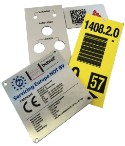 Labels voor Machines, Magazijn of Kantoor