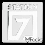 Naamlabel aluminium gepreegd, achtergrond gematteerd, logo glanzend gepolijst