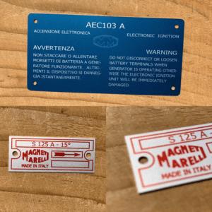 Aluminium typeplaten en waarschuwingslabels, slijtvast bedrukt in de anodiseerlaag